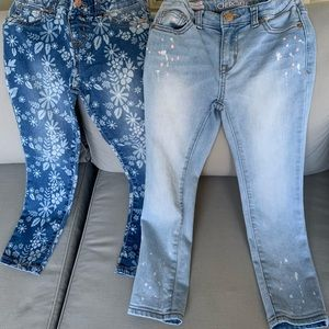 Cat &Jack and Cherokee girls jeans bundled